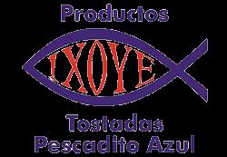 Tostadas Ixoye Pescadito Azul